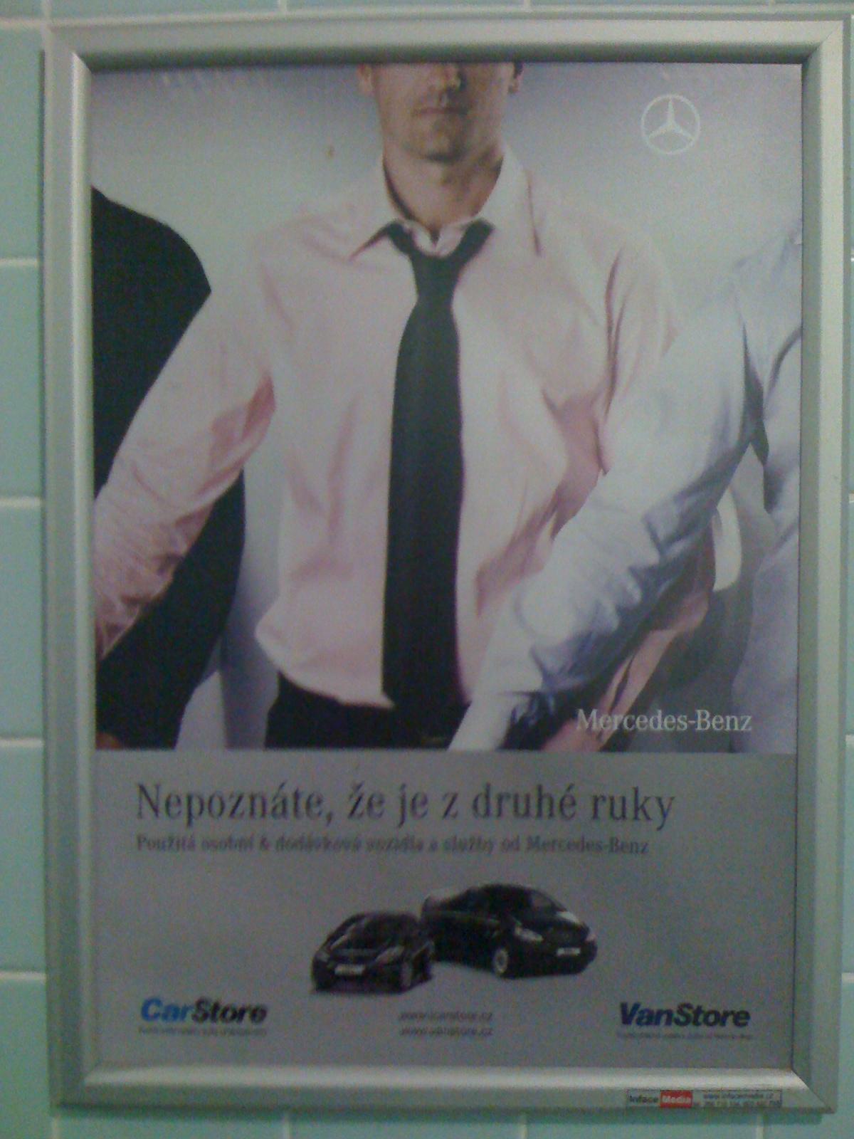 Trápna reklama Mercedesu: Nepoznáte, že je z druhej ruky